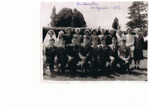Confirmation Ballyneale 1956