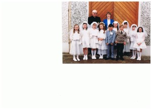 First Holy Communion 1983