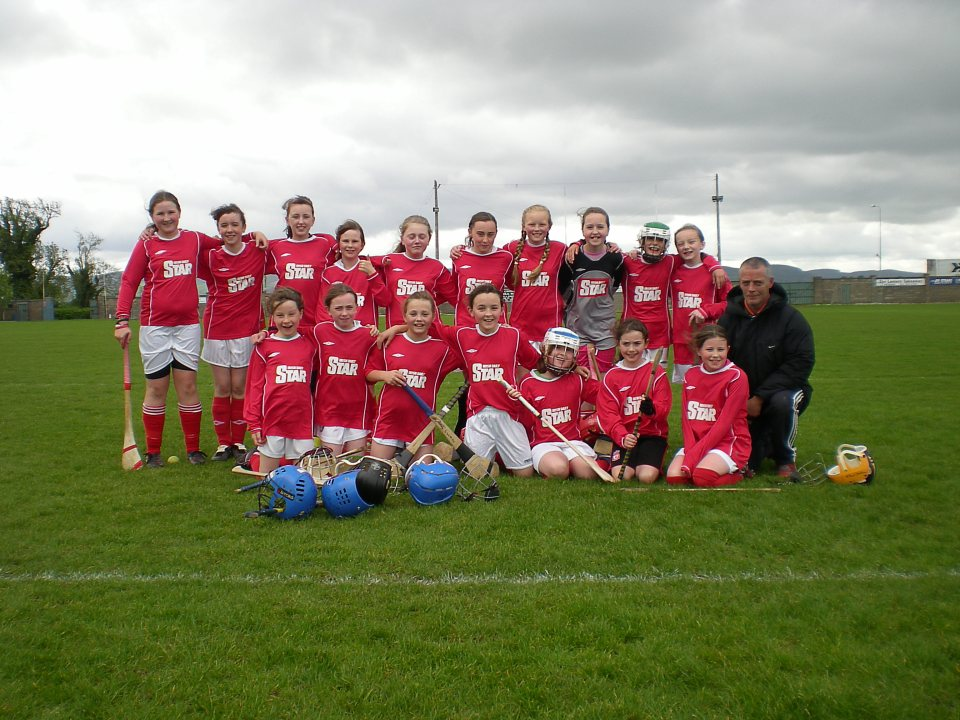U13 Girls Gaelic Team