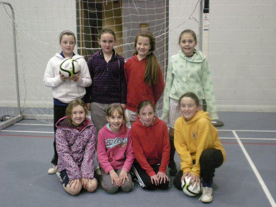 Girls Futsal Team