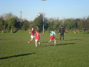 Ballyneale going for the ball