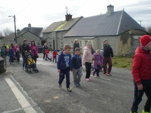 Easter Walk-setting off