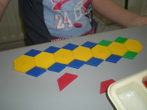 Maths Stations-Tessellation