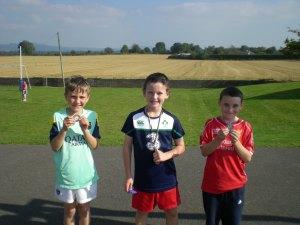 Team winners boys