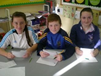 Ballyneale debating team