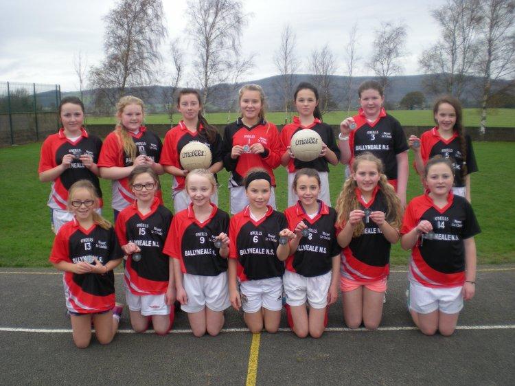 Girls Final team
