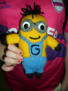 Knitting Minion