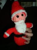 Knitting - santa 1