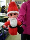 Knitting - santa