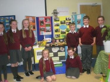 School garden Project pupils